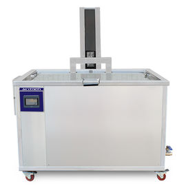Custom Made Ultrasonic Parts Cleaner 540L / 140Gal Pneumatic Lift CE Certification